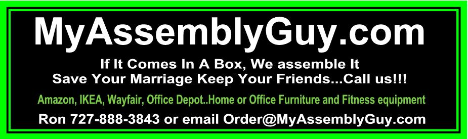 Furniture Embly Fitness Equipment
